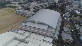 熊本高校28年地震災害復旧(屋内運動場屋根等)工事他合併