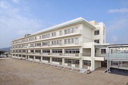 玉名町小学校教室棟改築工事